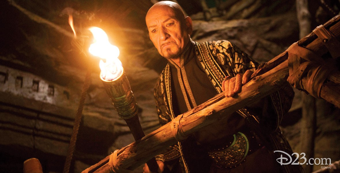 Photo of actor Ben Kingsley