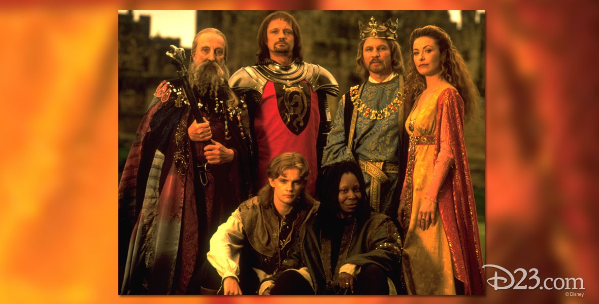 Cast of Disney movie A Knight in Camelot