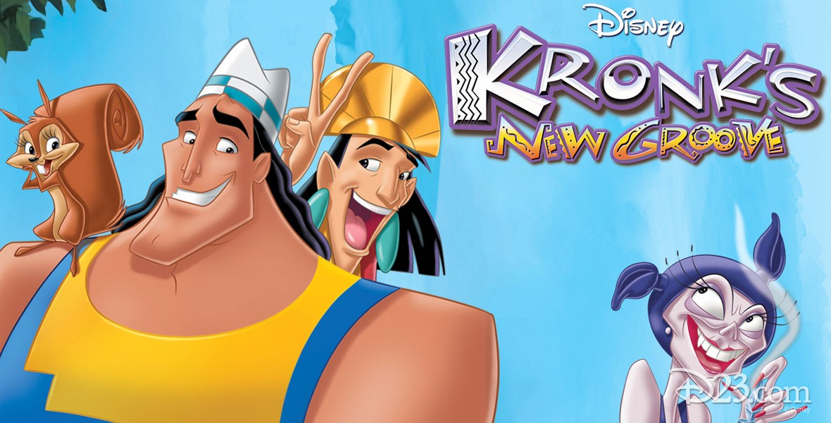 Poster for Disney film Kronk's New Groove (film)