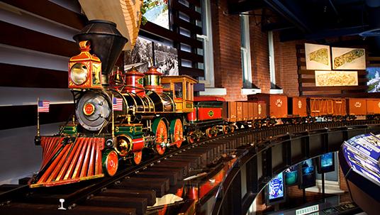 The All Aboard: A Celebration of Walt's Trains