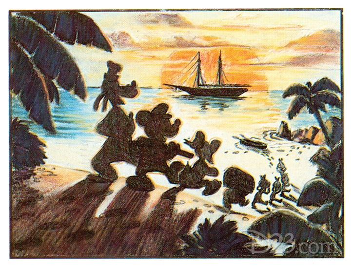 Mickey Mouse Lost Pirate Adventure