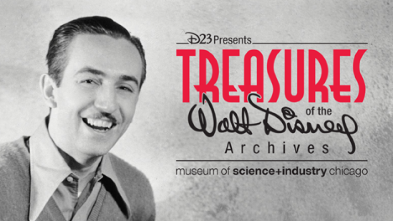 Treasures of the Walt Disney Archive Exhibits