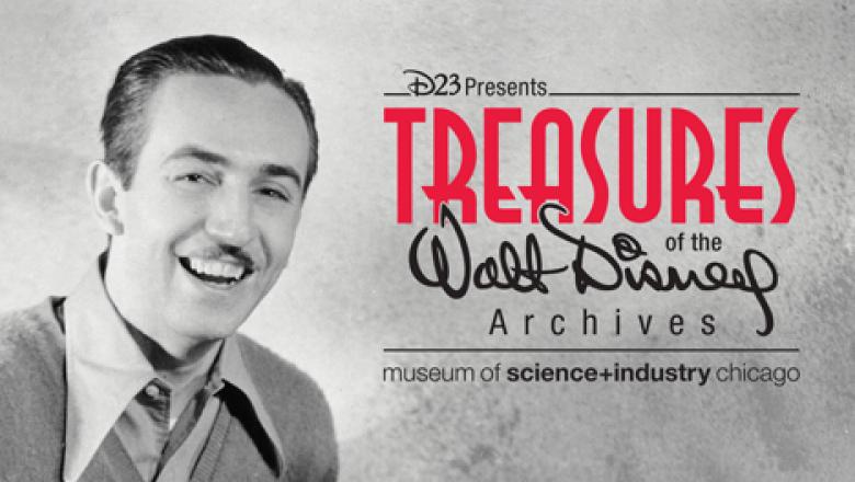 Treasures of the Walt Disney Archive Exhibits