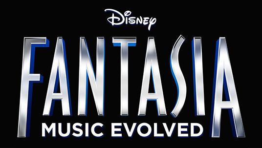 title art for Disney Fantasia Music Evolved videogame