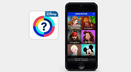 Disney Inquizitive App