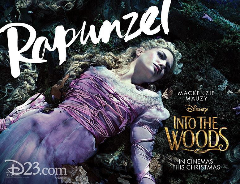 Mackenzie Mauzy as Rapunzel from Disney's Into the Woods