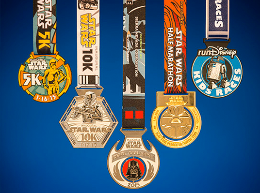 Star Wars Finisher Medals