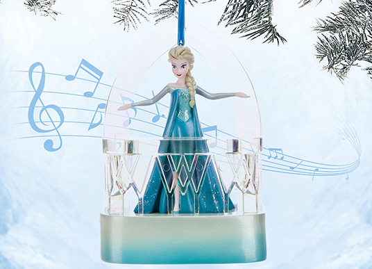 Disney Store Launches Holiday Sketchbook Ornament Collection