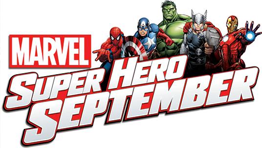 Marvel Announces Super Hero September