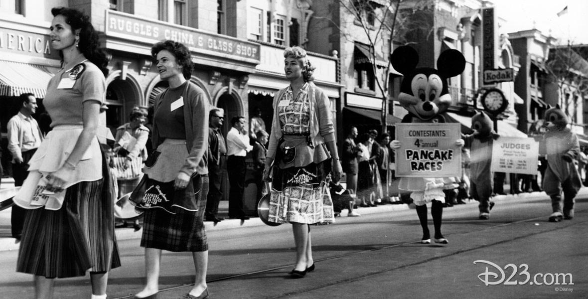Photo from Pancake Races at Disneyland