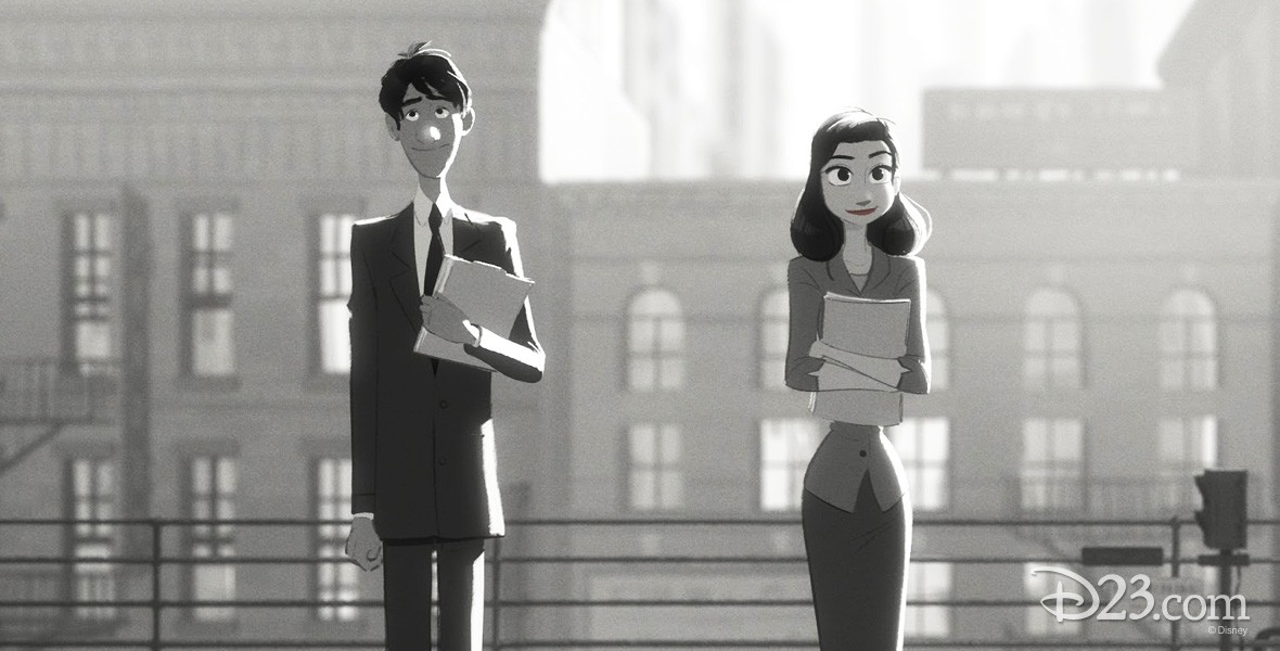 Photo of Paperman Film