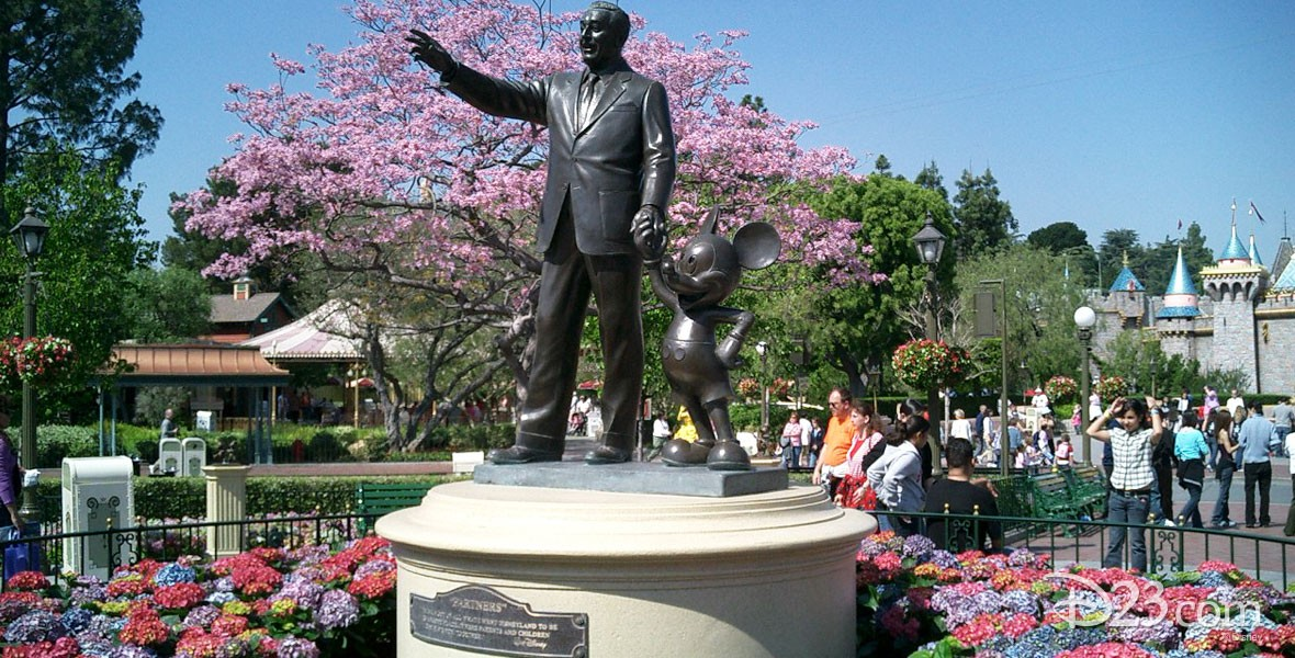 Photo of Partners Statue