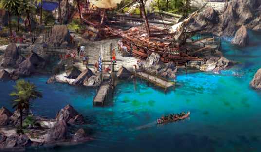 Treasure Cove at Shanghai Disney Resort