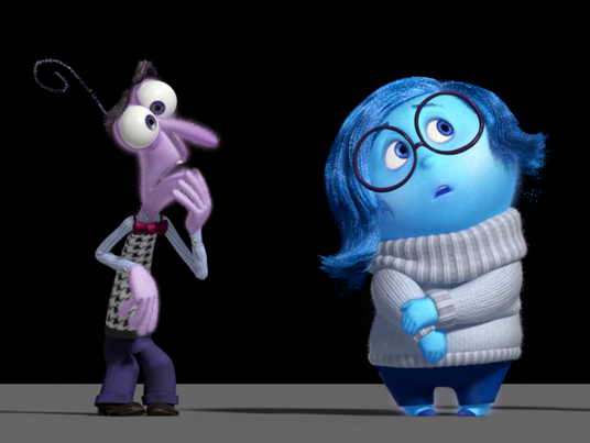 Inside Out's Fear and Sadness