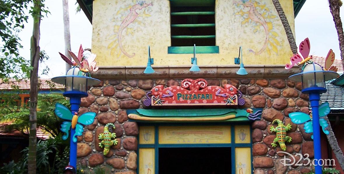 Photo of Pizzafari Restaurant on Discovery Island at Disney's Animal Kingdom