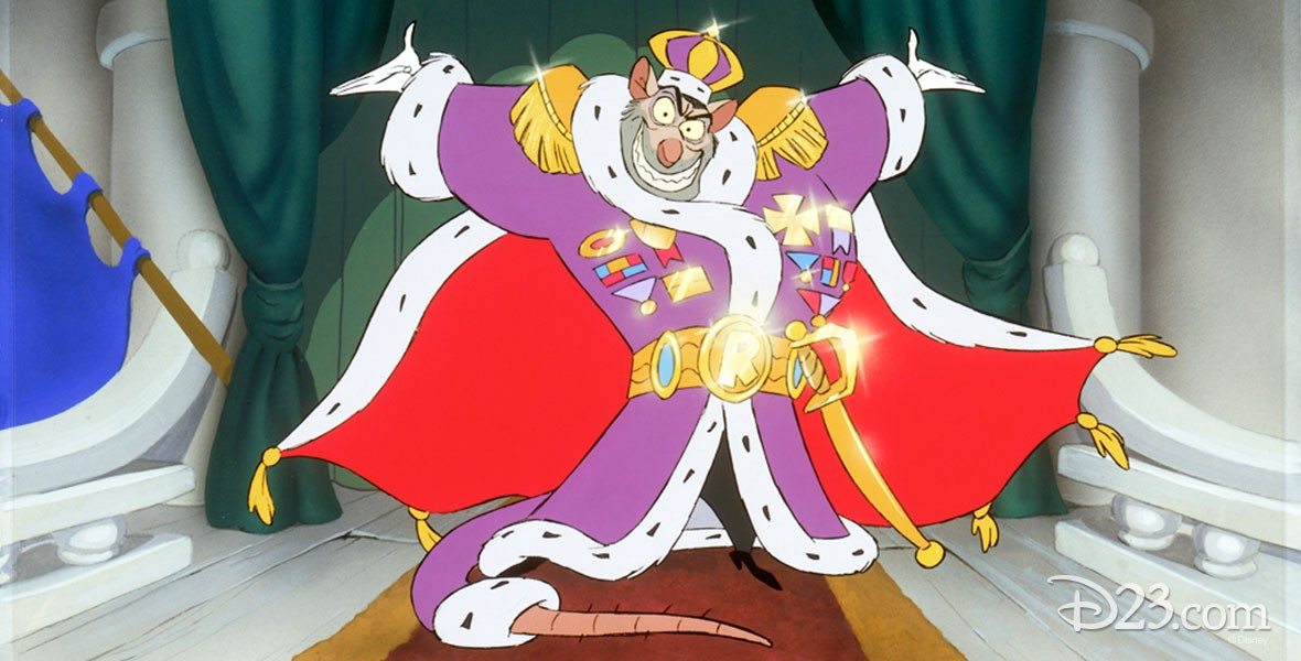 Disney's Animated Character Ratigan