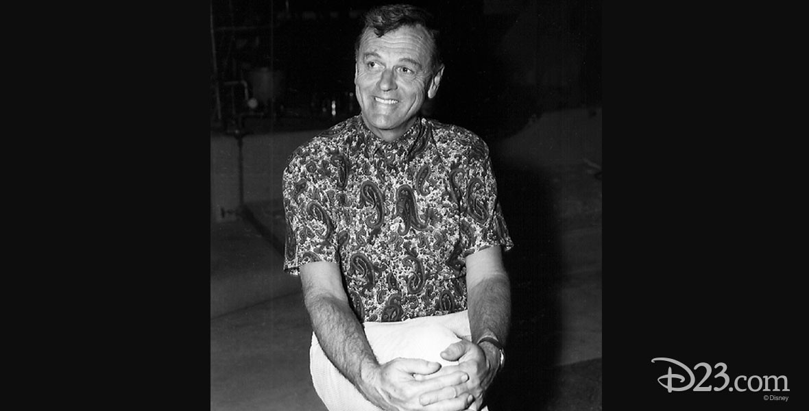 Photo of Disney Animator Wolfgang Reitherman