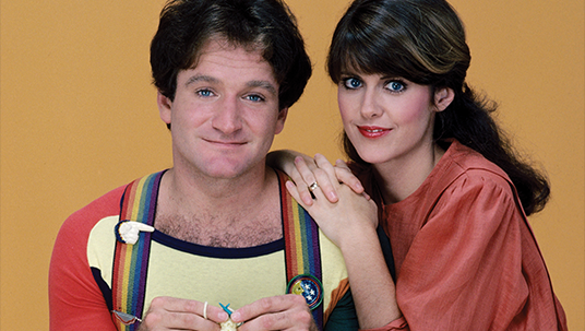 Photo of Robin Williams from Mork and Mindy
