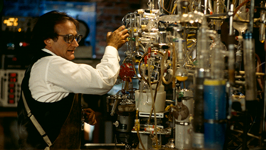 Photo of Robin Williams in Flubber