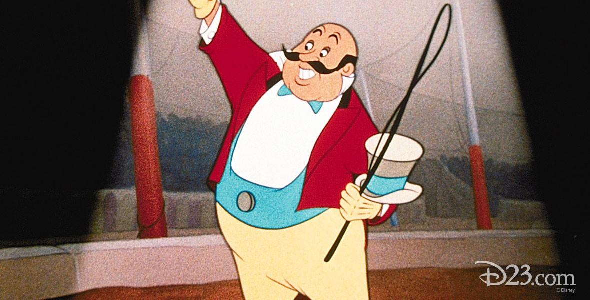 Ringmaster Character in Dumbo