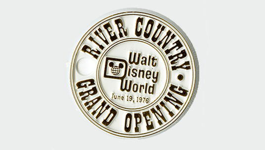 Walt Disney World River Country celebratory coins