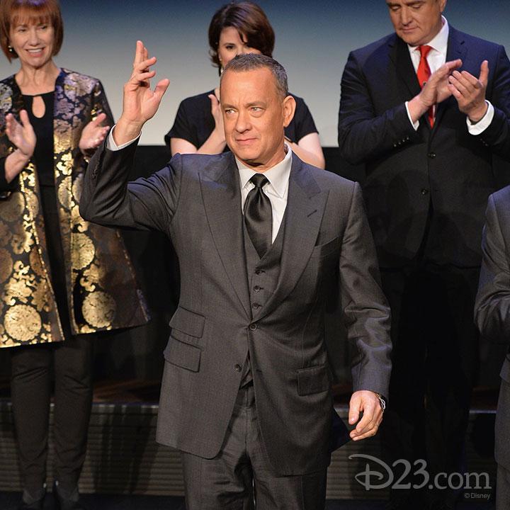 Saving Mr. Banks Premiere at Walt Disney Studios -- Tom Hanks