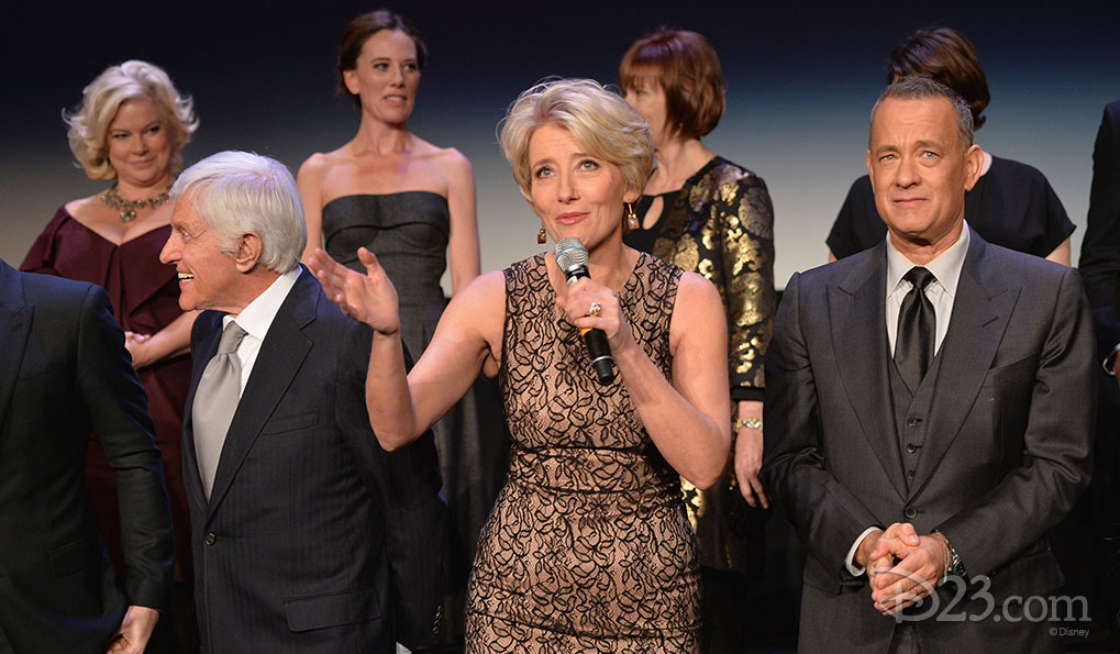 Saving Mr. Banks Premiere at Walt Disney Studios -- Tom Hanks, Emma Thompson, Dick Van Dyke