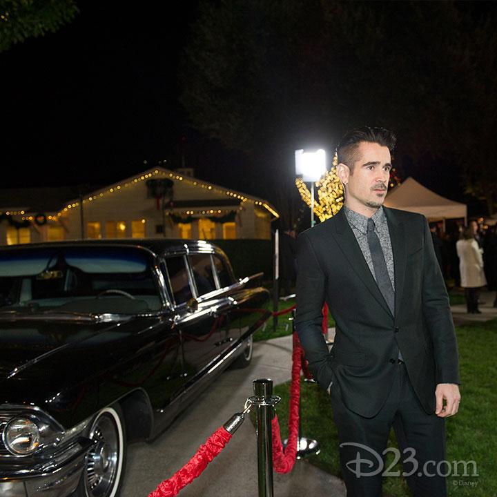 Saving Mr. Banks Premiere at Walt Disney Studios -- Colin Farrell