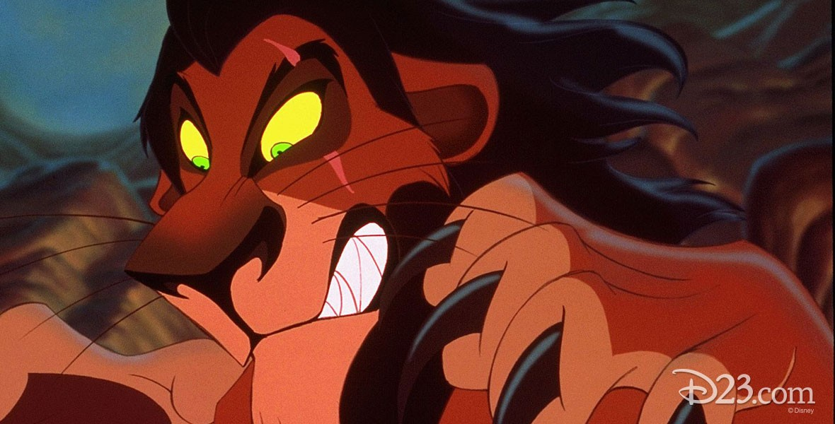 Photo of Scar Lion villain in The Lion King.