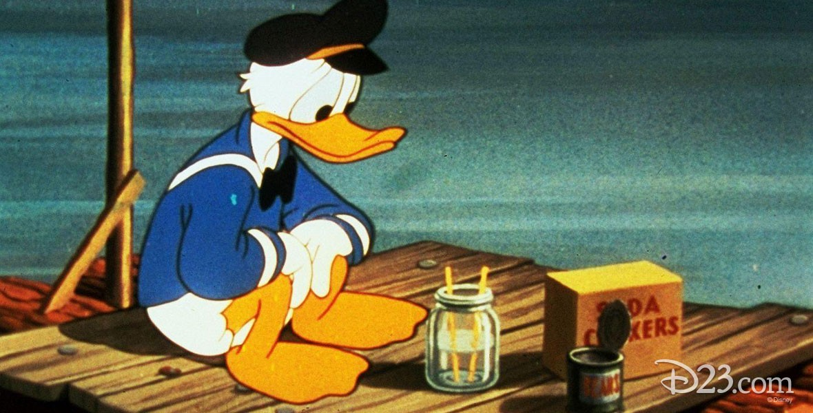 Photo of Donald Duck in Disney's Sea Salts Film