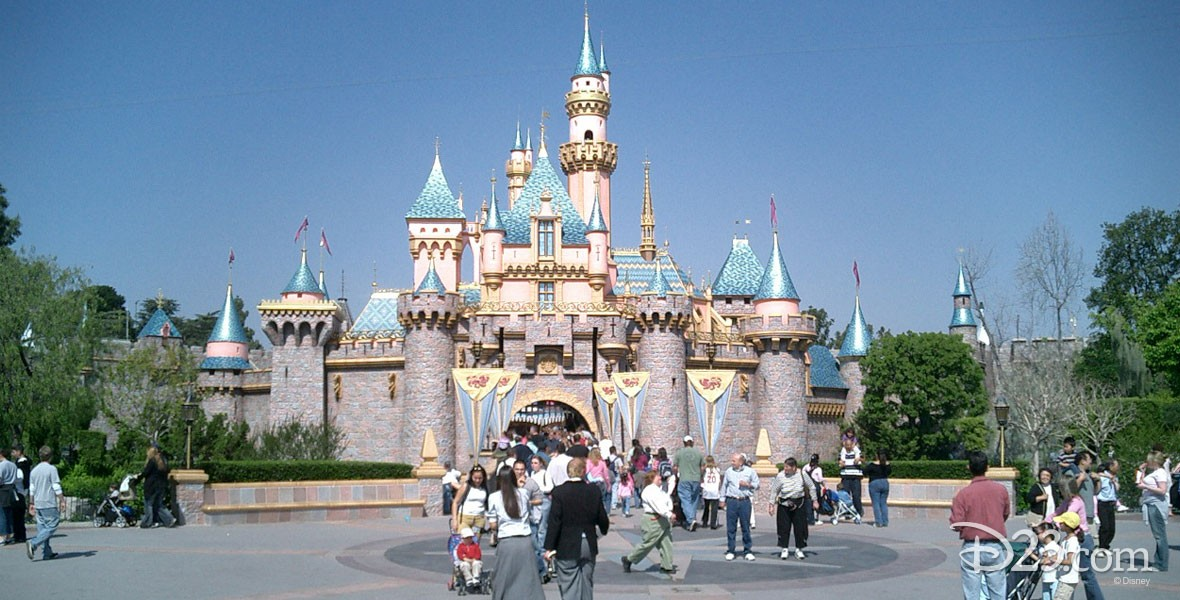 Sleeping Beauty Castle in Disneyland