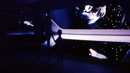 Space Mountain's Star Corridor