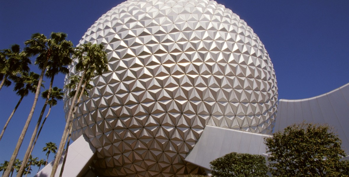 Photo of Spaceship Earth Geodesic globe attraction