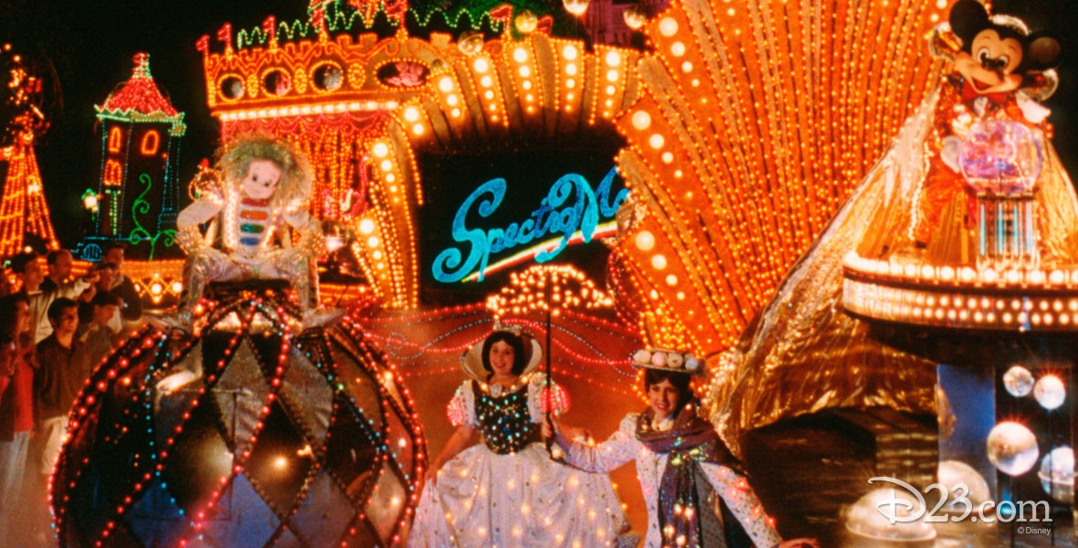 SpectroMagic Parade in Magic Kingdom Park at Walt Disney World