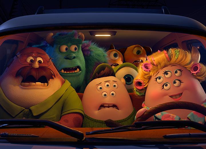 Characters Pixar Animation Monster University Scott Squishy Squibbles D23