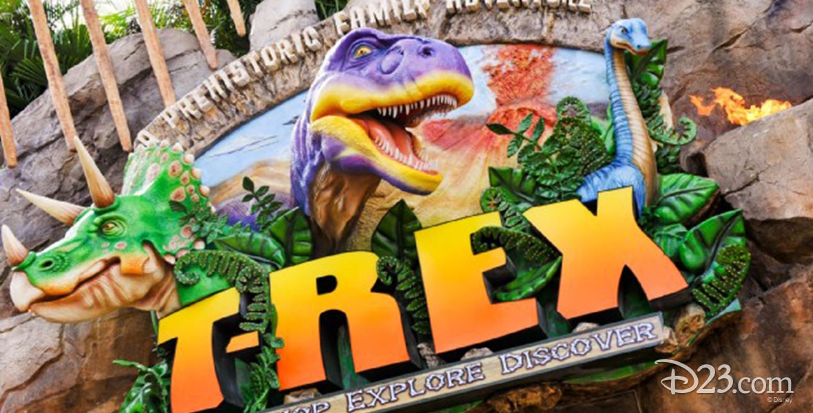 T-REX Prehistoric-themed restaurant in Downtown Disney Marketplace at Walt Disney World