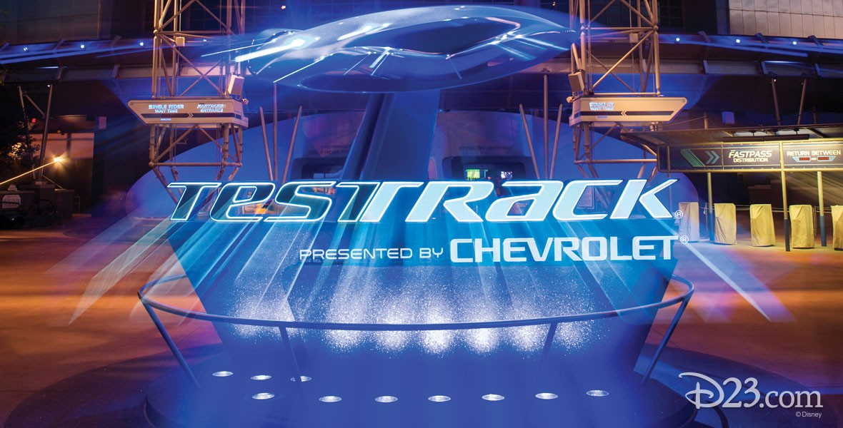 Test Track General Motors attraction at Epcot