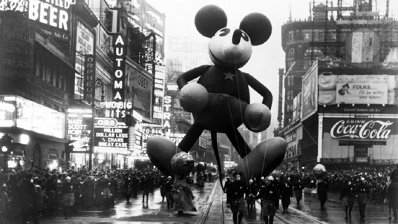 """2bac2df16 Kick Off The Holidays With A Parade. """"It all started with the Mickey Mouse  ..."""