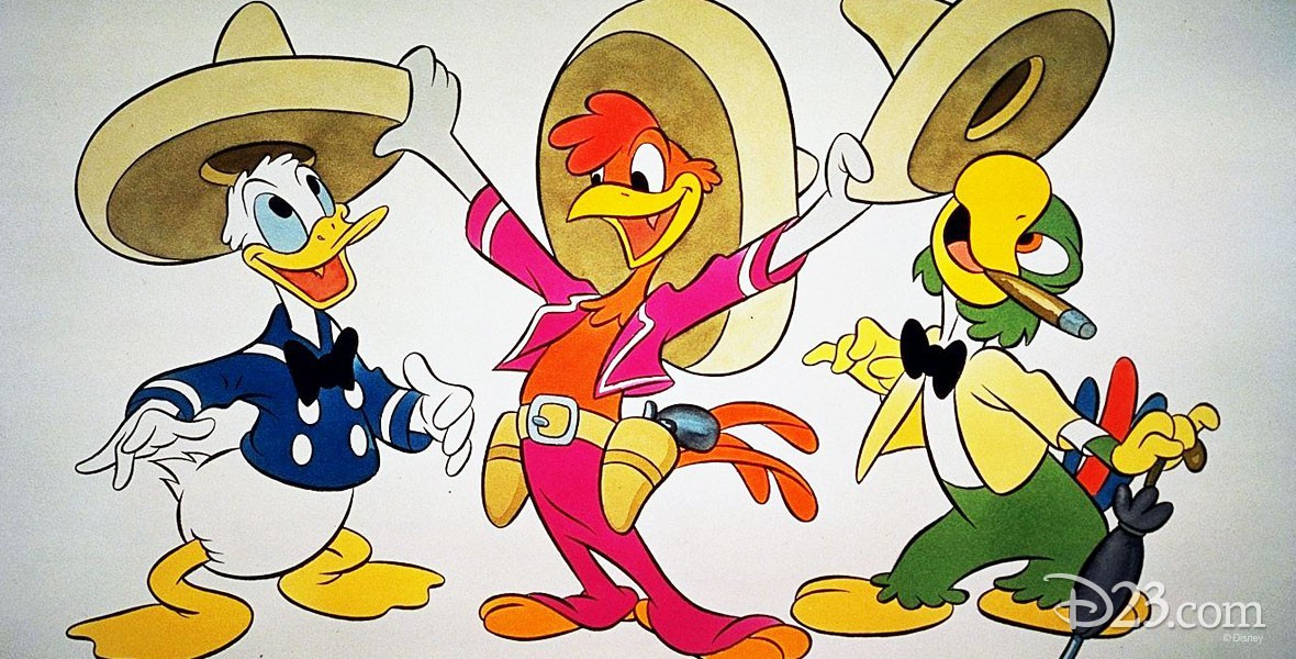 The Three Caballeros are Four short films on Latin America