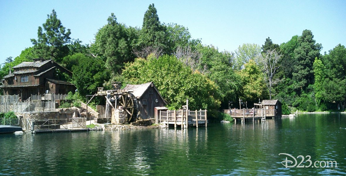 Photo of Tom Sawyer Island Frontierland attraction at Disneyland