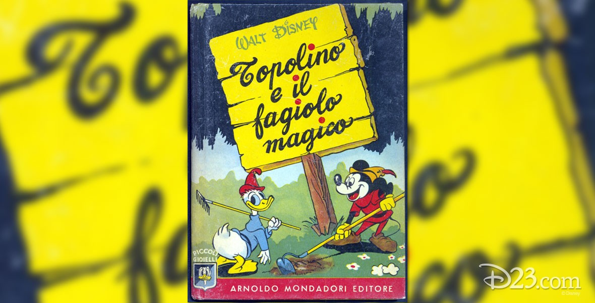 Photo of Topolino, the Italian version of Mickey Mouse