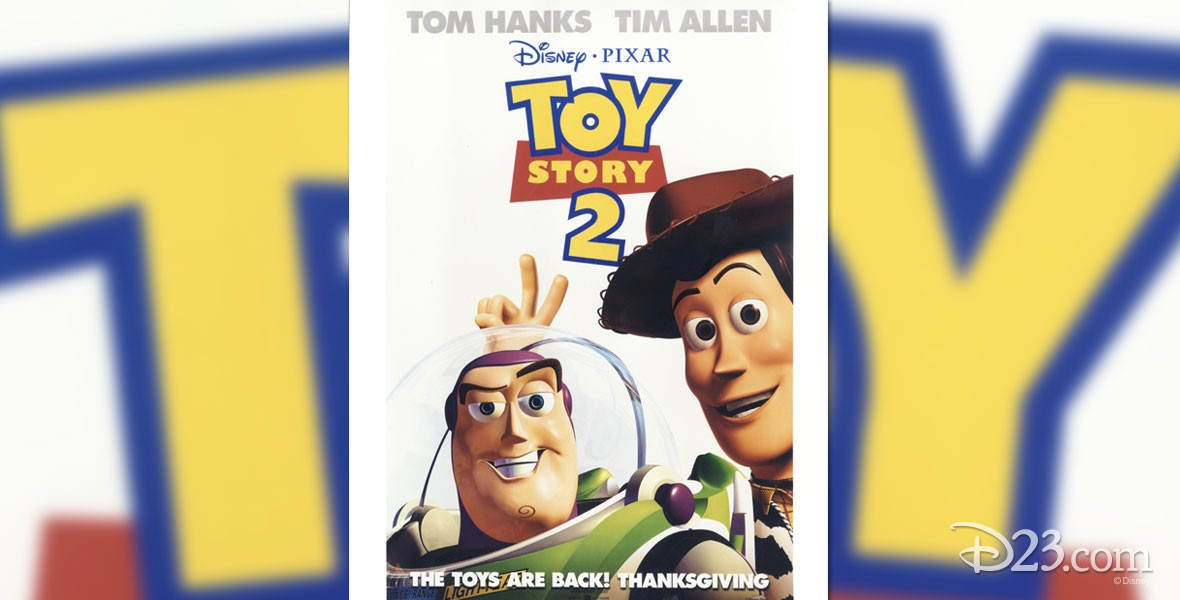 Poster from Disney / Pixar Film Toy Story 2