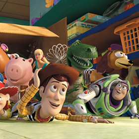 Characters from Toy Story 3