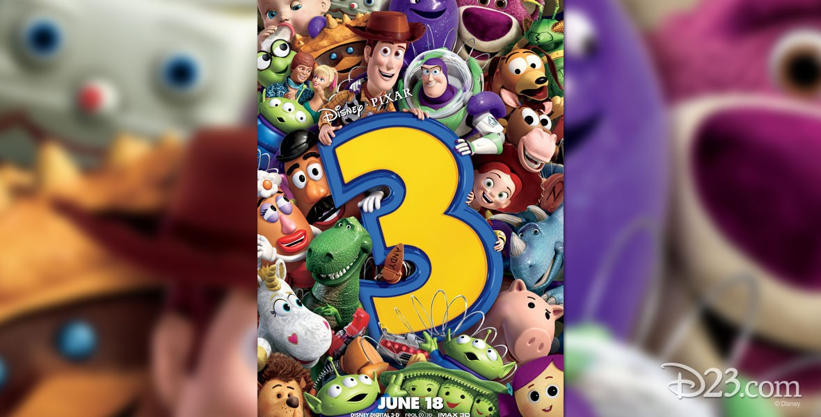 Poster from Disney / Pixar Film Toy Story 3