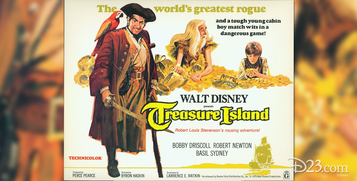 Poster for Disney's Treasure Island