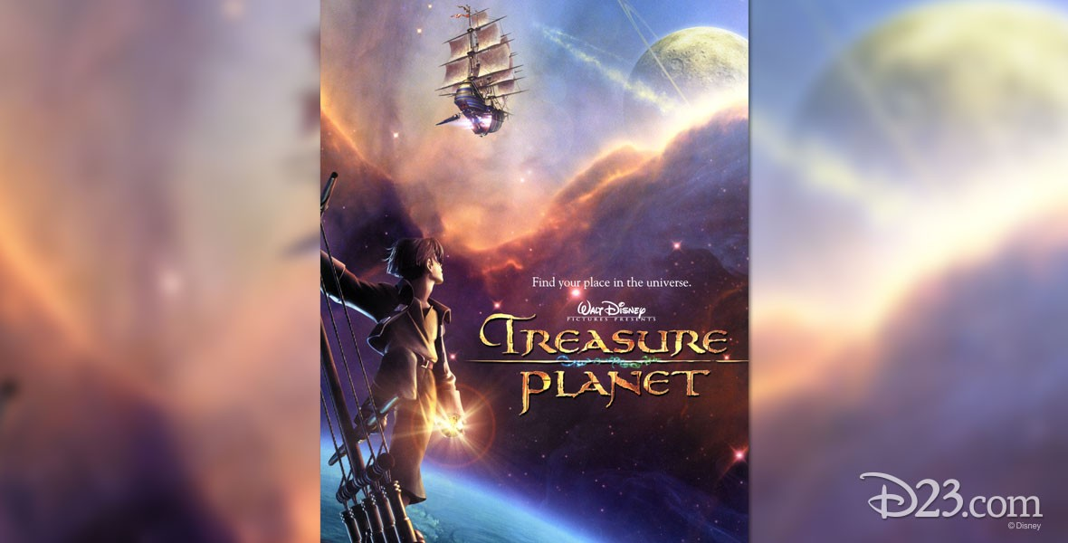 Poster for Disney's Treasure Planet