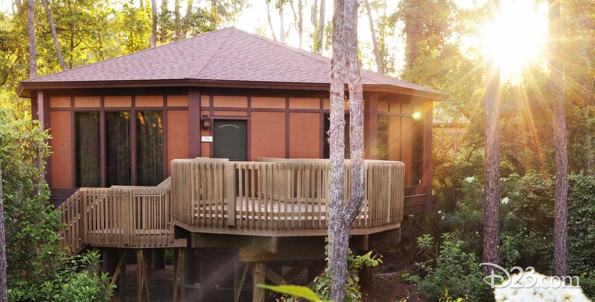 Treehouse Villas Accommodations at Lake Buena Vista