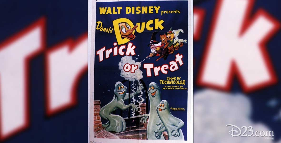 Trick or Treat Donald Duck cartoon