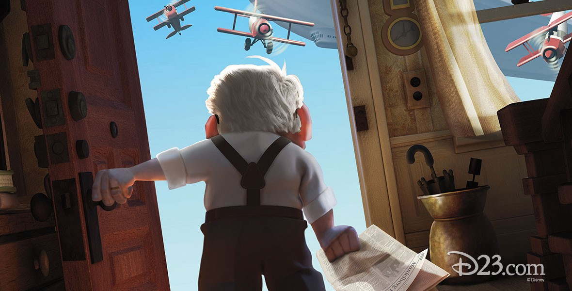 Carl in Disney's film Up