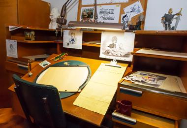 Animators Desk from the Walt Disney Archives